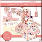 Le Avenue Paris Pop Up Box Card