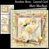 Sunshine Roses - Layered Card