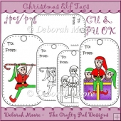 Christmas Elf Tags
