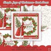 Simple Joys of Christmas - Card Front