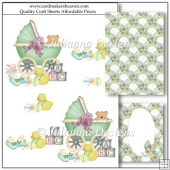 Baby Bliss Decoupage Set