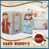 Spirit of Christmas Shaped Tri Fold Card Kit