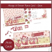 Always & Forever Name Card - Gran