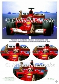 Meerkats Grand Prix Racing Car - Pyramage Card Topper