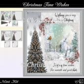 Christmas Time Wishes Mini Kit