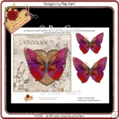 PS111 Butterfly Topper Card Front SHEET