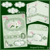 Lilies For You Buckle Card