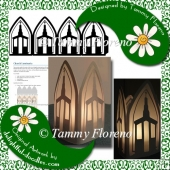 Church Luminaria SVG Cut File