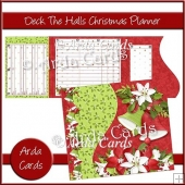 Deck The Halls Christmas Planner