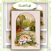 Water lily Tunnel card topper
