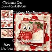 Christmas Owl Layered Card Mini Kit