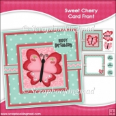 Sweet Cherry Card Front