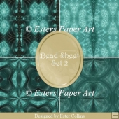 Printable Paper Bead Sheet Set 2