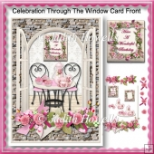 Celebration Through The Window Card Front