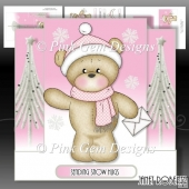 Bella with Envelope Stepper Card Mini kit