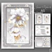 Frosted Floral 2 Mini Kit