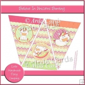 Believe In Unicorns Bunting