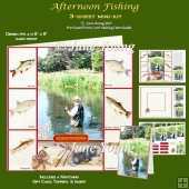 Afternoon Fishing - 3-Sheet Mini-Kit