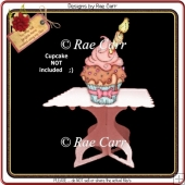 672 Cupcake Stand 2 *Multiple MACHINE Formats*