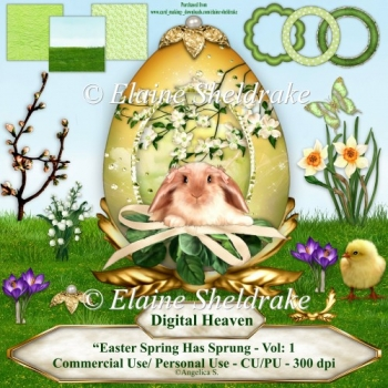 Easter - Spring Has Sprung Vol. One - Designers Resource CU PNG