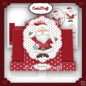 Santa's Stepper card set