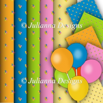 Balloon Backing Papers