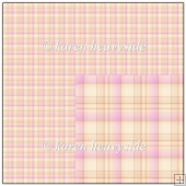 Pink Plaid 2 Backing Paper