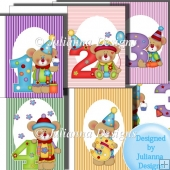 C5 Birthday Cards Ages 1 to 5 years