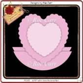 250 Scalloped Heart Rocker *Multiple MACHINE Formats*