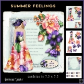 Summer Feelings Cardtopper Minikit 890