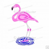 Flamingo Cutting File - GSD/Studio Ready