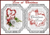 Love at Crhistmas Insert / Topper