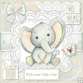 Gender Neutral Baby Elephant 1
