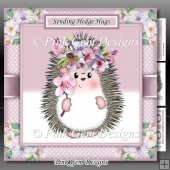 Sending Hedge Hugs Pink Mini Kit