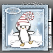 Penguin in Curly Hat Mini Kit