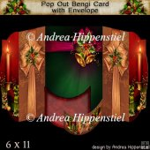 Pop Out Bengi Card Christmas Presents