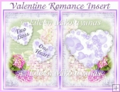 Two Lives, One Heart Valentine Romance Insert