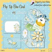 3D POP UP BOX CARD KIT - HAPPY BIRTHDAY