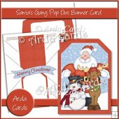 Santa's Gang Pop Out Banner Card
