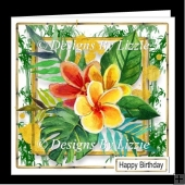 Tropical Flowers 3 Mini Kit