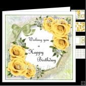 Birthday Flowers_Yellow Mini Kit
