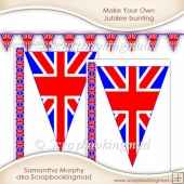 Make Your Own Jubilee bunting