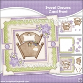 Sweet Dreams Card Front & Insert Panel