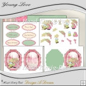 Young Love Card Kit