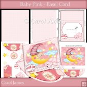Baby Pink - Easel Card