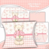 Grin N Bear It Pillow Box EXTRA LARGE
