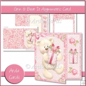 Grin & Bear It Asymmetric Card