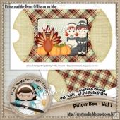 Pillow Box - Vol 1 (Thanksgiving)