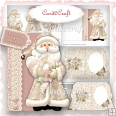 Santa shaped card 2