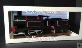 3D Model Train Engine with Coal Tender Track & Box (PDF Handcut)